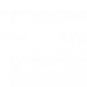 Bluffton Aesthetics Badge Logo White